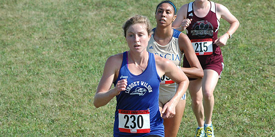 Maria Cozzens led the way for the Blue Raiders at the NAIA Preview Meet