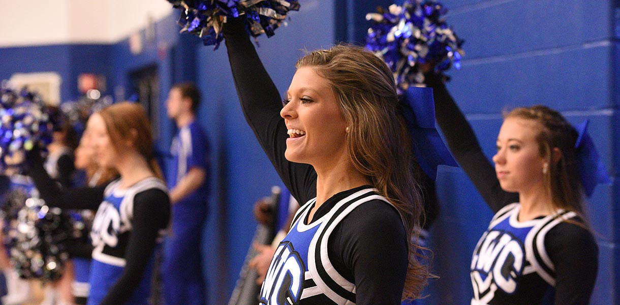 Photo for Cheerleading prepares for Mid-South Conference Championships on Wednesday night in Frankfort