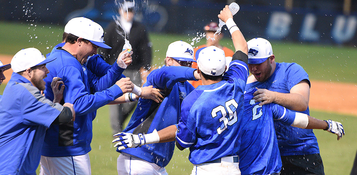 Photo for No. 6 Baseball walks off against Union in extra innings, 6-5