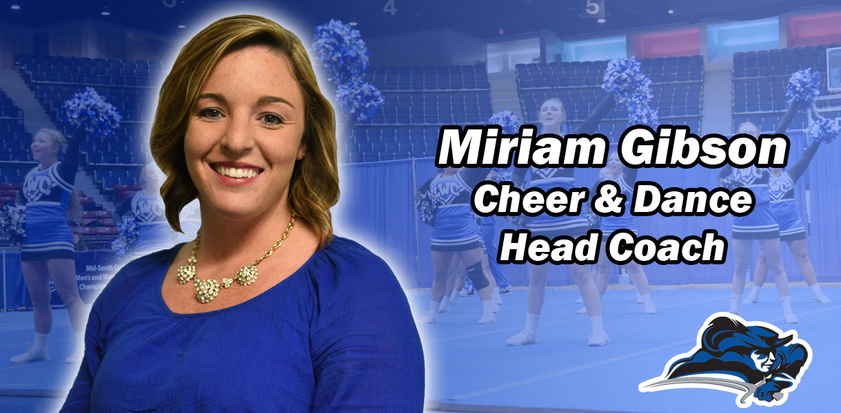 Photo for Miriam Gibson named Lindsey Wilson Cheer & Dance Coach