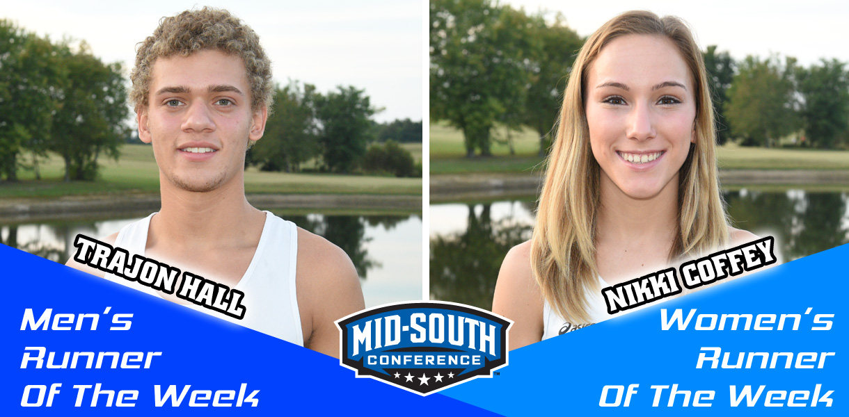 Photo for Hall and Coffey sweep MSC Runner of the Week honors