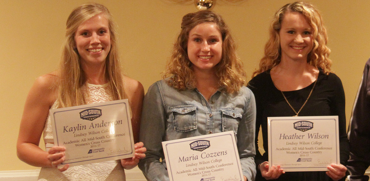Photo for Trio of Blue Raiders earn Women's Cross Country Academic MSC honors