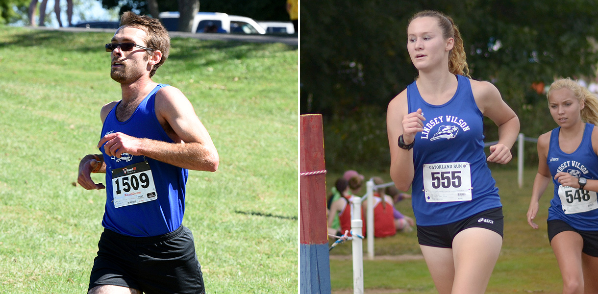 Photo for Hoffman and Wilson earn NAIA Cross Country Scholar-Athlete honors
