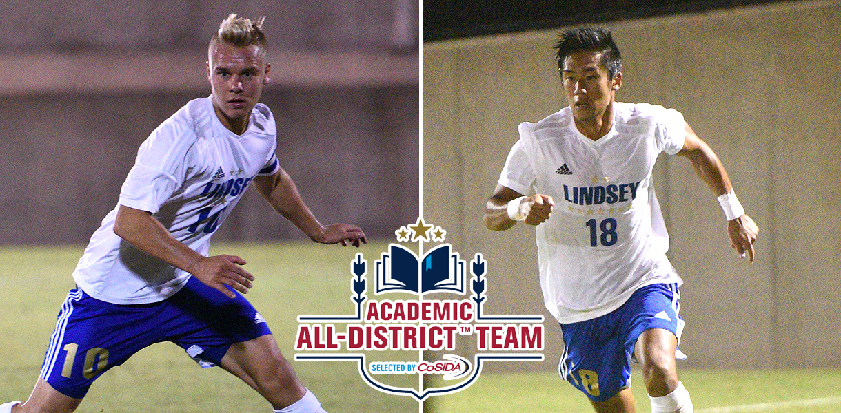 Photo for Yamamoto and Pahkasalo earn CoSIDA Academic All-District honors
