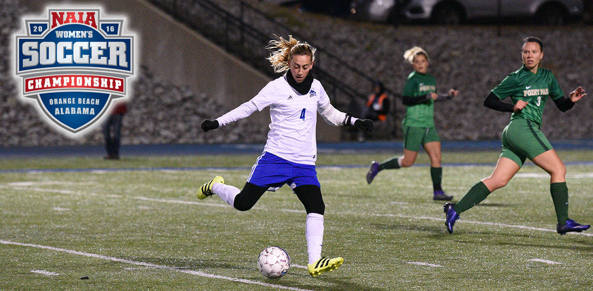 Photo for Women's Soccer faces Columbia on Tuesday in NAIA National Championship Second Round