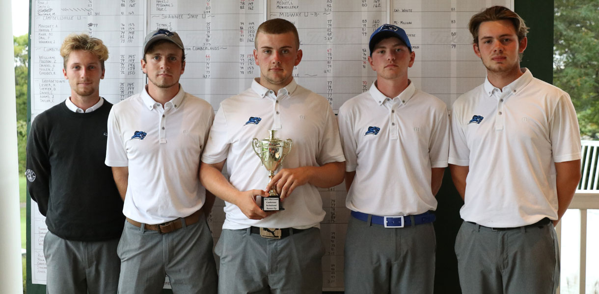 Photo for Men's Golf takes second at Mid-South Conference Fall Tournament